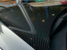 "790""x60"" 5D Carbon Fiber Vinyl Wrap Shinny Sticker Ultra Glossy Gloss Decal"