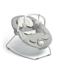 Mamas & Papas Baby Vibrating Musical Apollo Bouncer Pebble Grey