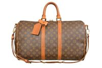 Louis Vuitton Monogram Keepall 45 Bandouliere Travel Bag Strap M41418 - YF00798