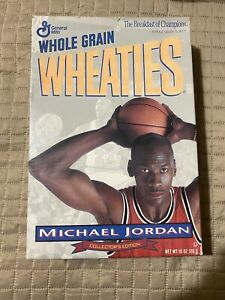 MICHAEL JORDAN CHICAGO BULLS 1993 WHEATIES CEREAL BOX COLLECTOR'S EDITION Rare