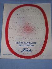 Catalogo Asta FINARTE -  Disegni e acquarelli del XX secolo - 11 Giugno 1990(M5)