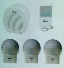 BARKING WATCH DOG Alarm HomeSafe Security System 1 REMOTE + 3 OUTDOOR SENSOR NEW