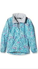 The North Face Girl's Resolve Jacket - Blue/Bluebird Pebble Print Age 10-12 Year