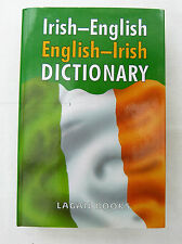Irish-English / English-Irish Dictionary, Lagan Books Hardback Book NEW