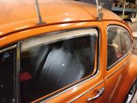 VW Käfer ab 64 Frischluftgitter Lüftungsgitter Frischluft Chrom Poliert (-024)