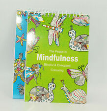 Adult Colouring Spiral Anti-Stress Adult Colouring Book Relax Mind Pattern