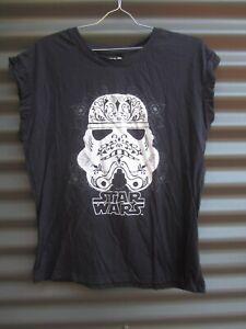 Star Wars Black Storm Trooper Sleeveless T Shirt