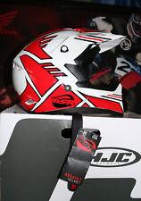 NEW MSR ASSAULT red/white/black motocross motorcycle helmet size youth S 47-48cm
