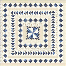 "Moda quilt kit Regency Blues by Christopher Wilson-Tate KIT42300 Size 78"" x 78"""
