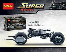 DECOOL 7115  Super hero  Batman motorcycle  Building toy BAT-POD  no box