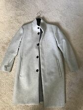 Theory Whinfell Belvin Coat in Gray 100% Cashmere Men Size Small