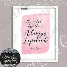 Audrey Hepburn cita Fashion Art Belleza habitación tipografía cita