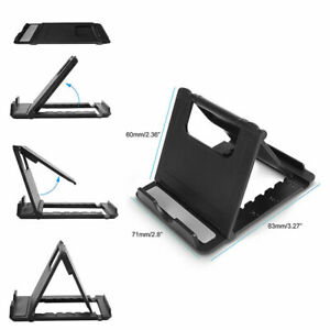 Foldable Phone Stand Holder Mount Desk For iPhone 7 8 XR 11 12 Samsung S8 S9 S1