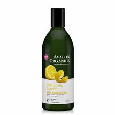 Bath & Shower Gel Organic Lemon 12 Oz
