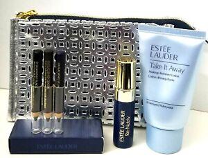 Estee Lauder 6 pcs Cosmetic Bag Re-Nutriv Serum Travel Gift Set NEW GIFT$$