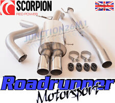 "Scorpion Fiesta ST 180 / 200 Exhaust Cat Back Race 3"" Non Res - LOUDER VERSION"