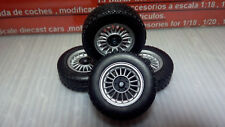 1:18 PARTS : Wheels  and axels  BMW 733  - KK SCALE  - 3L 050