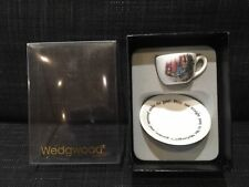 WEDGWOOD PETER RABBIT MINIATURE CUP AND SAUCER BOXED ENGLAND BONE CHINA