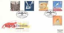 (08679) GB FDC WWII Peace & Freedom BBMF Commemoration London 1995