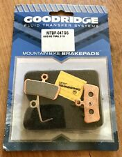 Goodridge Avid XO Trail/Guide Sintered Disc Brake Pads, Pair Of Pads With Spring