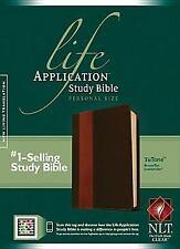 Life Application Study Bible NLT, Personal Size, Tutone (2013, Imitation...