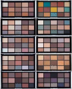MUA 15 Shade Eyeshadow Palette 12g SEALED - Choose Shade