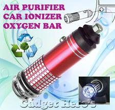 New Mini Car Auto Ionizer Fresh Air Purifier Oxygen Ozone Bar Cleaner Deodorant
