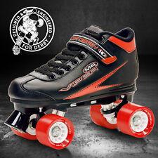 RDS Viper M4 Mens Ladies Quad Roller Derby Speed Skates US Size 6