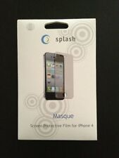 Splash Masque screen protective film for iphone4/4s for Front And Back