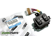 1990-1997 Mazda Miata Black Power Window Switch (Vehicles W/ Automatic Trans)