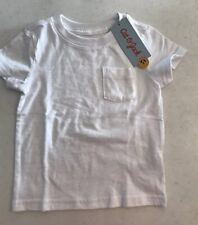 Cat & Jack Boys 12 Months White Pocket T Shirt