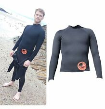 1.5 mm thermal neoprene long sleeve rash vest Very Warm. Ideal for watersports