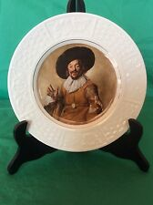 "VINTAGE WOOD & SONS CABINET PLATE THE MERRY DRINKER BY FRANS HALS 8"" across"