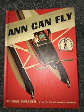 Dr. Seuss ANN CAN FLY BOOK 1959 Childrens Beginner Book VINTAGE Fred Phleger HC