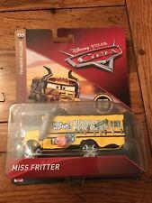 Mattel Disney Pixar Cars 3 Deluxe MISS FRITTER School Bus Thunder Hollow