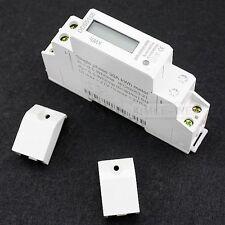 LCD Digital Single Phase Meter Electricity Meter Wattmeter Din Rail Meter 5(30)A