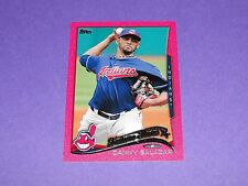 2014 Topps DANNY SALAZAR #530 Pink Mini Variant/25 Cleveland INDIANS - Dominican