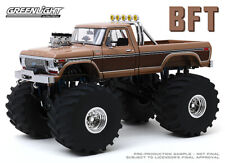 "1:18 Greenlight 1978 Ford F350 ""BFT"" Monster Truck with 66 inch tires GL13557"