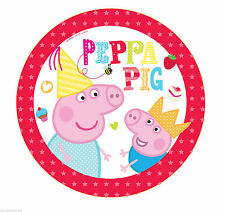 Birthday, Child Party Tableware Peppa Pig Less than 10