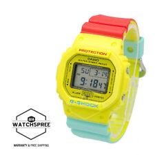 Casio G-Shock Breezy Rasta Color Watch DW5600CMA-9D