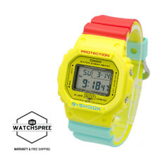 Casio G-Shock Breezy Rasta Color Watch DW5600CMA-9D AU FAST & FREE