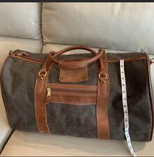 COACH Brown Duffel Bag Large Shoulder Bag 0502 Duffle