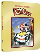 Who Framed Roger Rabbit Limited Gold Edition Steelbook UK Exclusive Bluray NEW