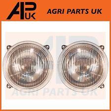 2X massey ferguson tracteur tête lumière lampe set série 100 200 500 600 gauche droit