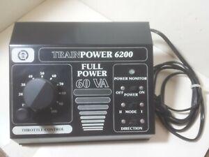 MRC TRAINPOWER 6200 TRANSFORMER - BLACK - EXCELLENT CONDITION