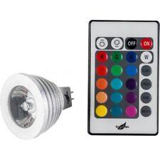 Havit MR16 LED RGB LAMP WITH REMOTE 5W 12V DC 30° Beam Angle *Australian Brand