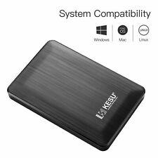 Kesu 160Gb Ultra Slim Portable External Hard Drive USB 3.0 HDD Storage