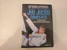 Breakthrough Jiu Jitsu Concepts Keenan Cornelius 5 Dvd Training