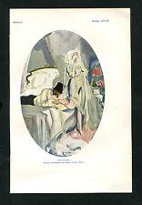 """""""Hochzeitsnacht"""" - Nach einer Lithographie von Marcel Vertes (J-BE3)"""