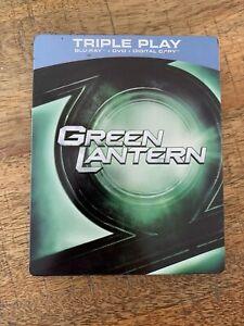 Green Lantern Triple Play Steel Book Bluray DVD